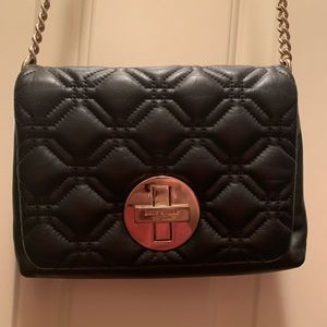 kate spade Bags - Kate Spade quilted black leather crossbody purse